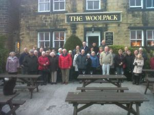 The Woolpack used in The Filming of Emmerdale