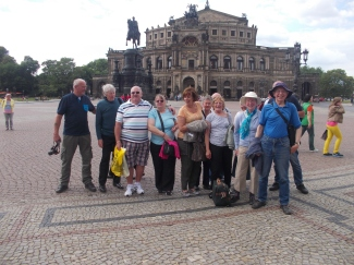 Saxony,Dresden & Colditz, Robin Rush, June (2)