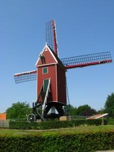 Le vieux moulin de Retranchement, près de Sluis