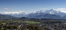 The Alps at Salzburg